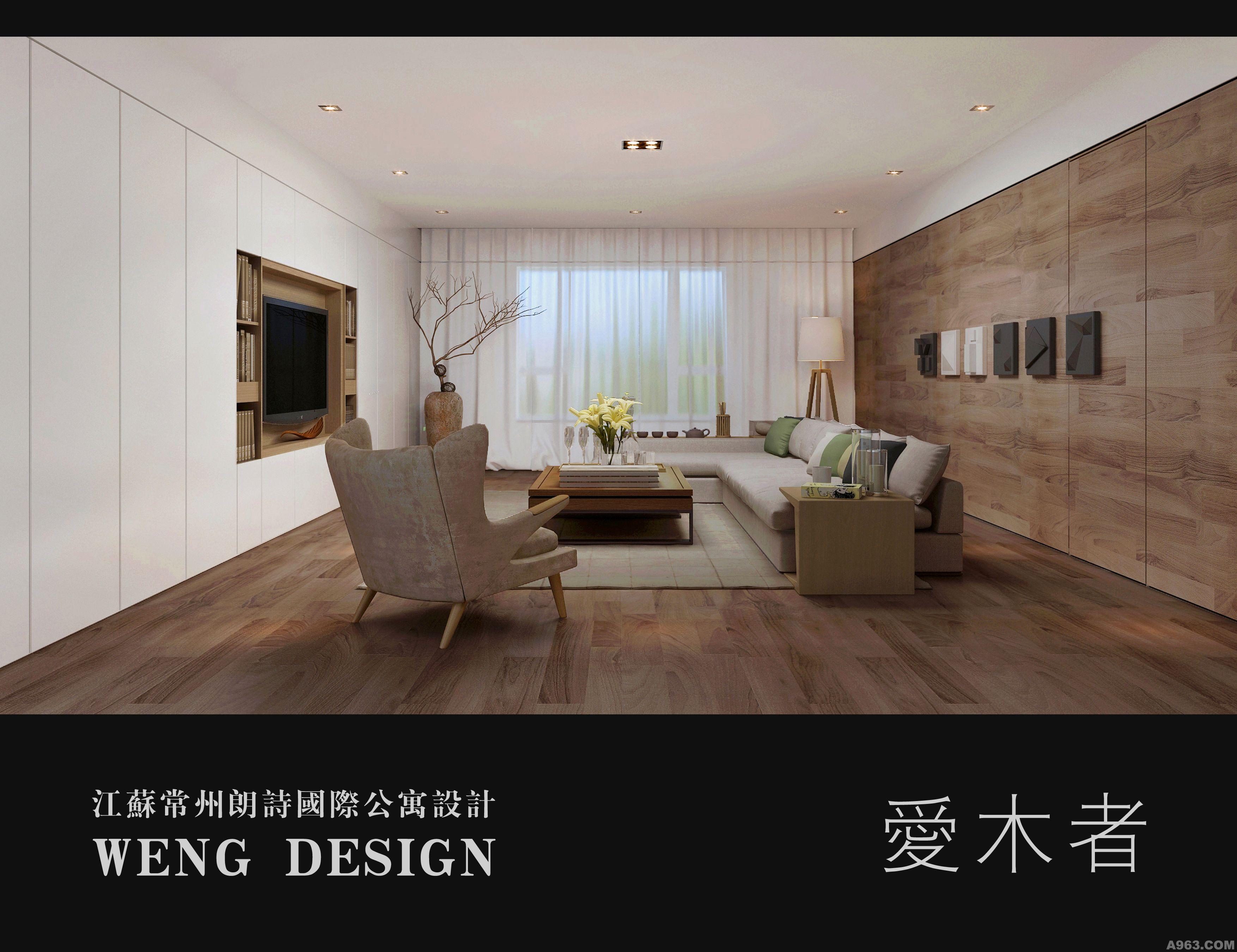 木质家具客厅用什么自贴墙纸